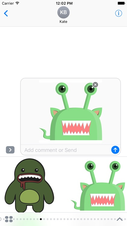 Monster Stickers!