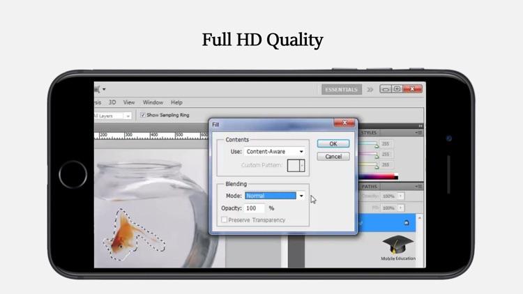 Full Tutorial for Adobe® Photoshop HD