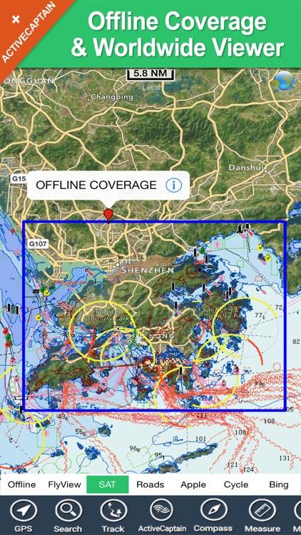 Hong Kong - GPS Map Navigator screenshot-4