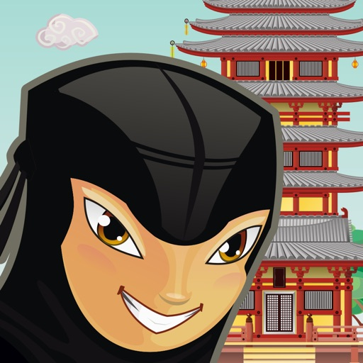 Ninja Tower Stack - Asian Building Puzzle Tap Game