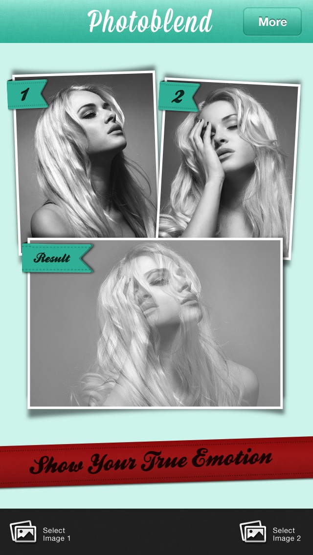Fotoblend Pro mezclan imágenesCaptura de pantalla de3
