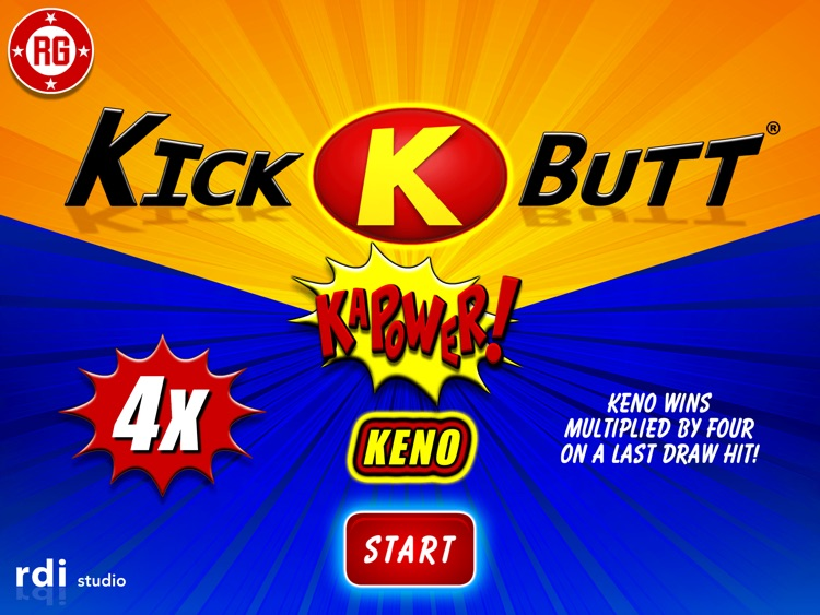 Kick Butt Keno HD