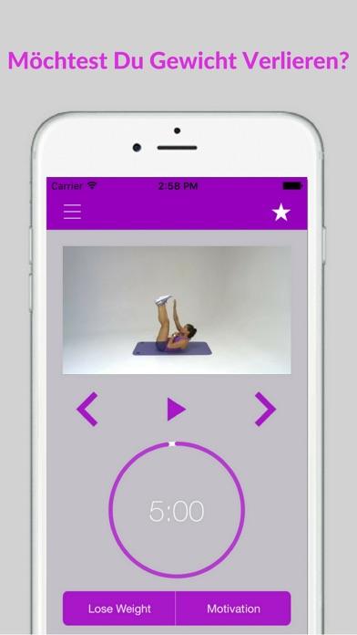Bauchtraining Workout Fitness Bauch ÜbungenScreenshot von 2