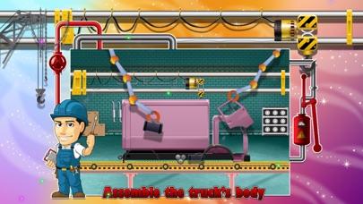 Truck Factory - Super cool vehicle maker simulator game for crazy mechanics screenshot two