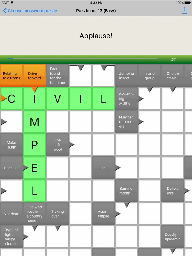 Crossword Free On The App Store