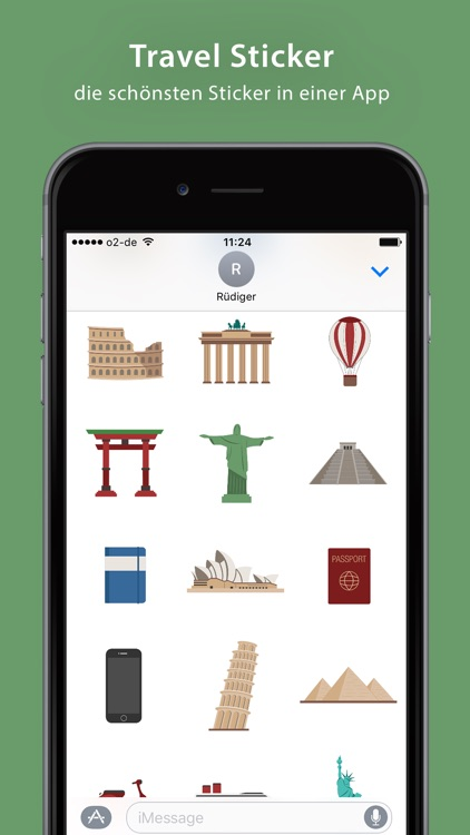 Travel Sticker Pack - iMessage screenshot-0
