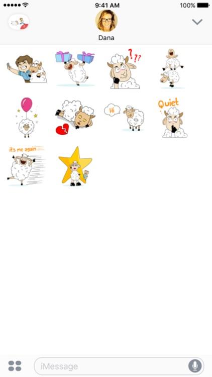 Lamb Festival stickers by Esra Olmez