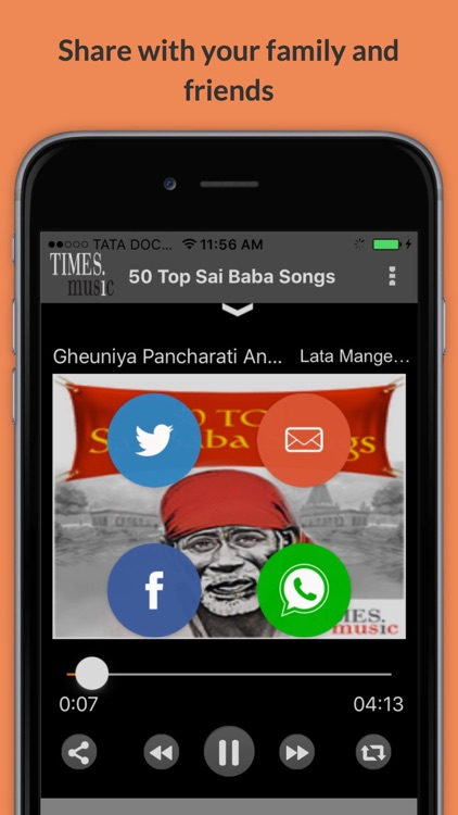50 Top Sai Baba Songs screenshot-3