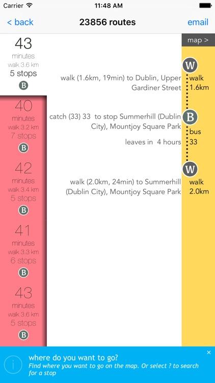 Dublin Public Transport screenshot-4