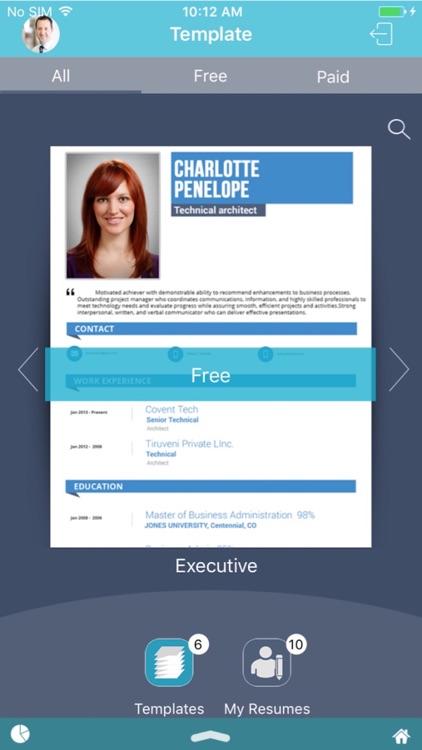 Social Resume Builder