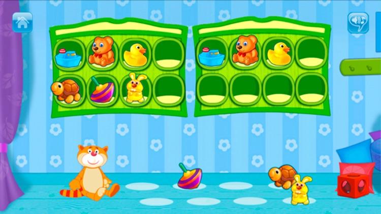 Playroom: 10 educational games for kids & toddlers screenshot-3