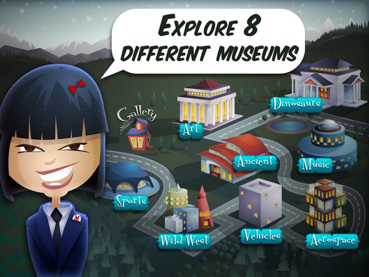 Mystery Math Museum screenshot-0