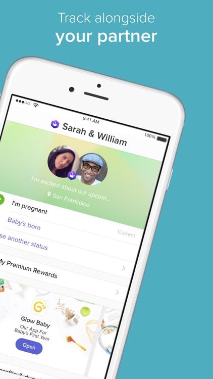 Glow Nurture - Pregnancy Tracker, Baby Calendar app image