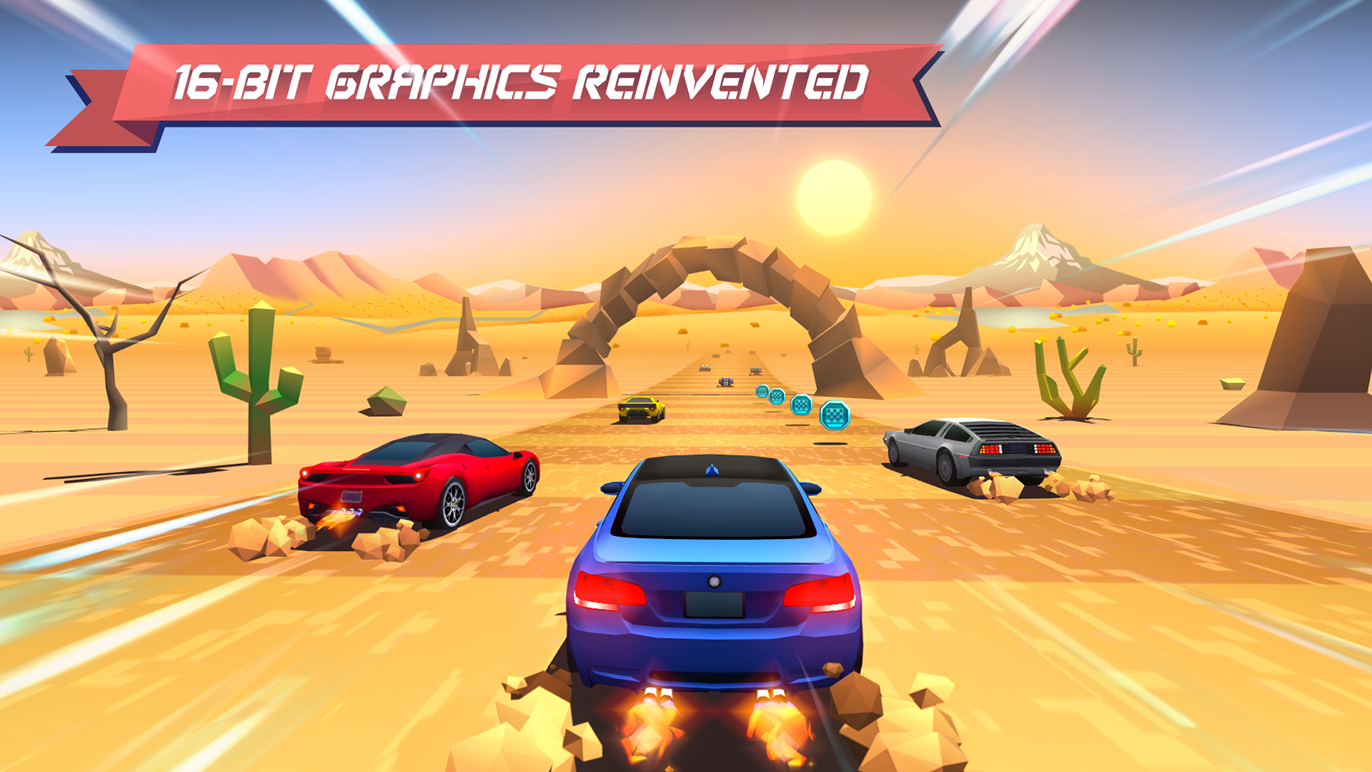 Horizon Chase - World Tour screenshot 12
