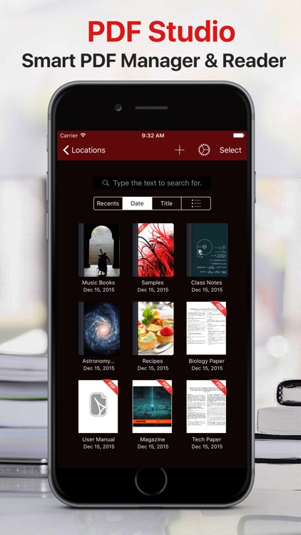 PDF Files − Reader & Library