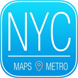 New York City Travel Guide with Subway Map and GPS