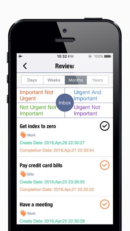 OmniToDo2 Priority-To do list matrix,Week calendar screenshot-4