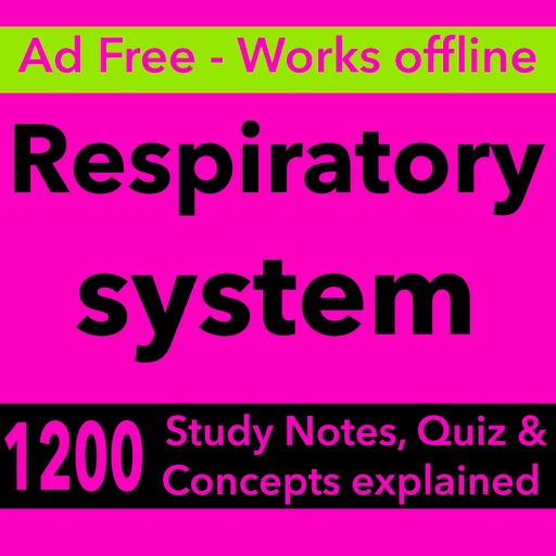 Respiratory System Nursing & therapy App-1200 Q&A Icon