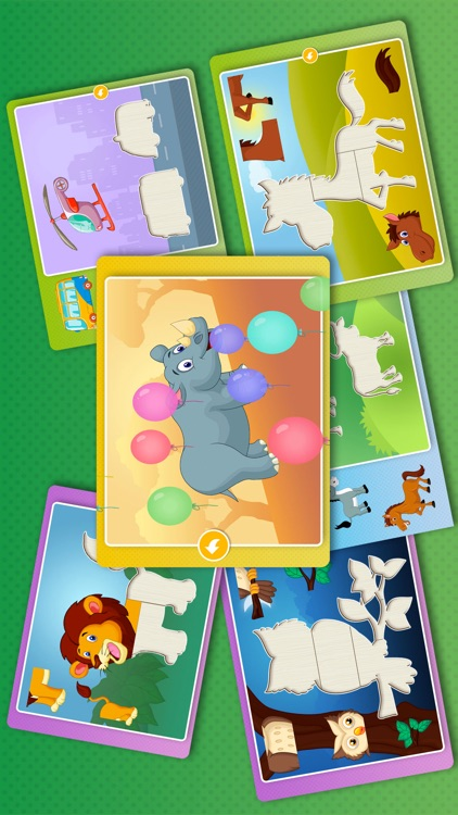Kids Animal games-SmartPuzzles screenshot-3