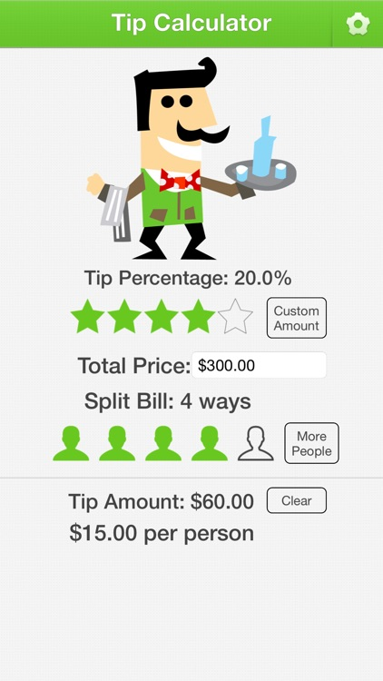 Tip Calculator for Mobile