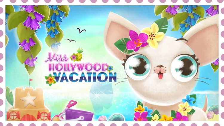 Miss Hollywood: Vacation - Pet Paradise Adventure screenshot-0