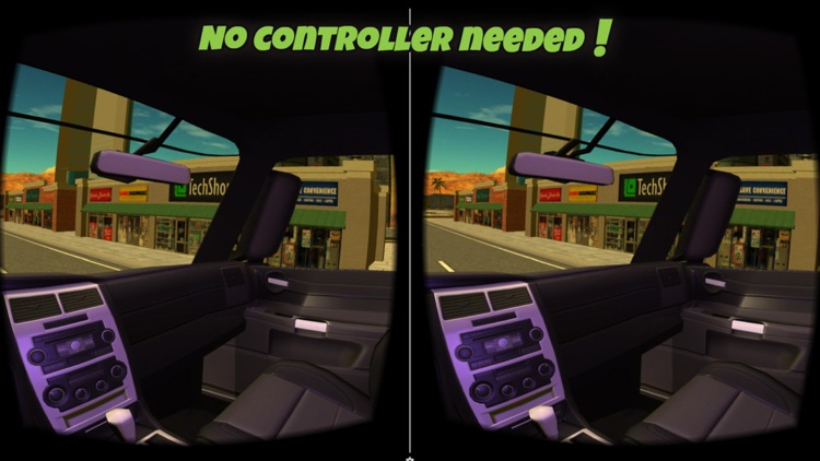 VR Truck Simulator : VR Game for Google Cardboard screenshot-2