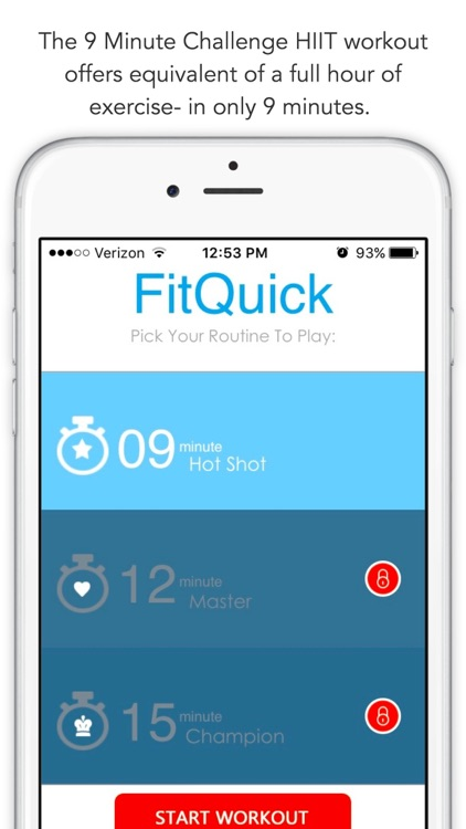 FitQuick - 9 Minute Workout