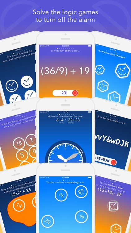 FreakyAlarm — Puzzle Alarm That Wakes Your Brain