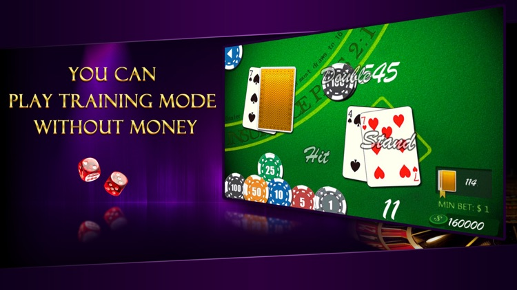 AE Blackjack - Free Classic Casino Card Game with Trainer