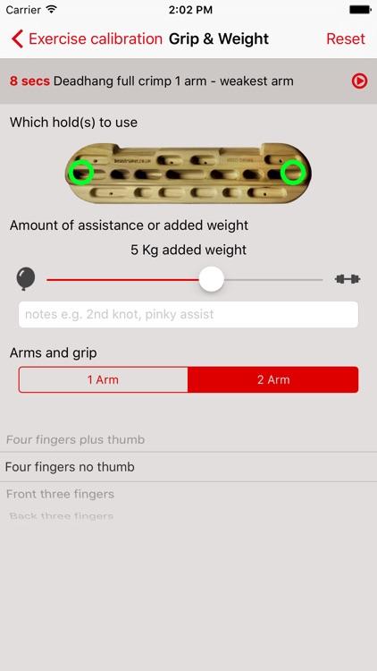 Neil Gresham's Hangboard Guru screenshot-4