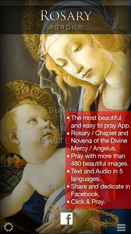 AgappeRosary Chaplet of Divine Mercy & Rosario