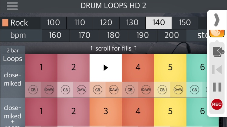 Drum Loops HD 2 screenshot-4