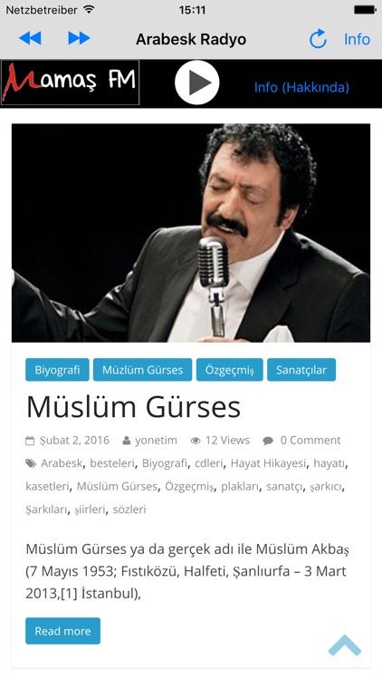 Arabesk Radyo Mamas FM