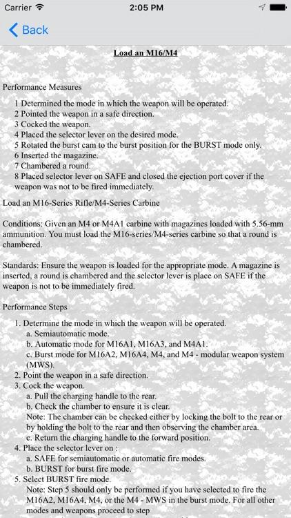 Army Warrior Tasks screenshot-4
