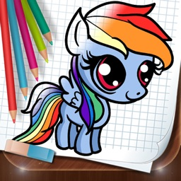 My Coloring Book Little Pony Full