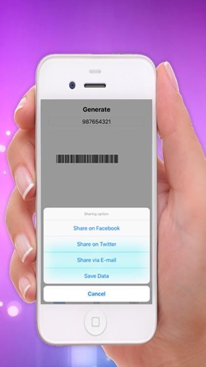 Barcode Maker: Scan & Generate QR/Data matrix Code screenshot-4