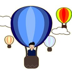 Activities of Hot Air Balloons Coloring Book for Kids