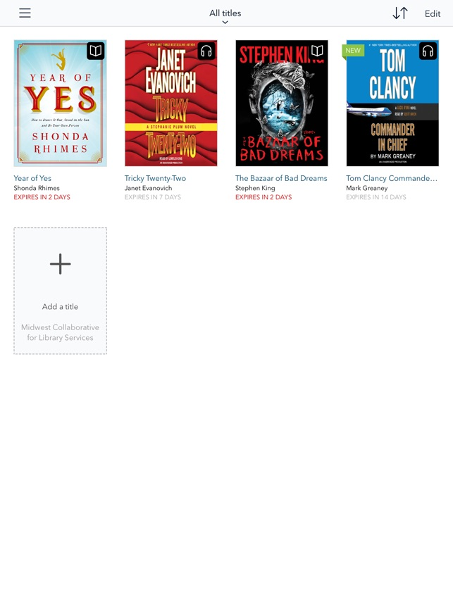OverDrive: eBooks & audiobooks on the App Store