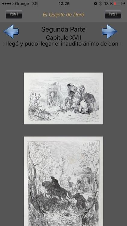 El Quijote de Doré screenshot-3