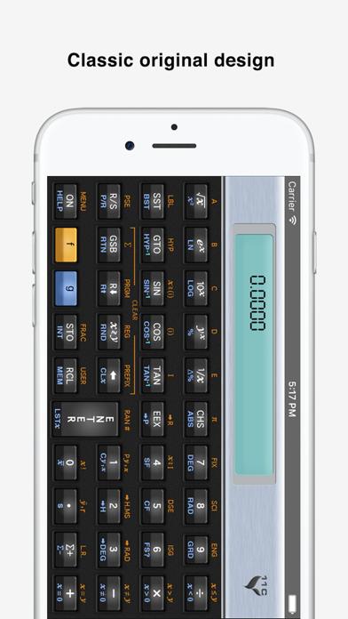11C Scientific Calculator screenshot