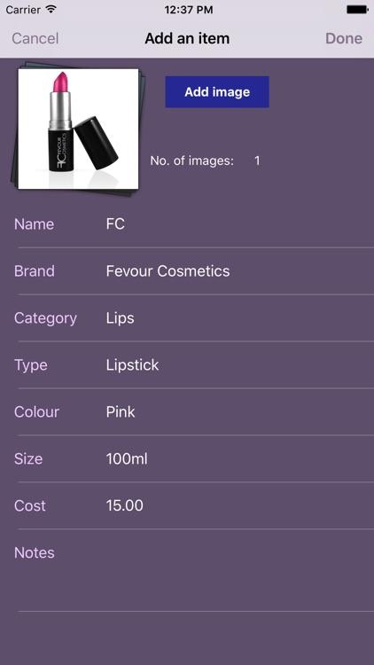 My Makeup Bag