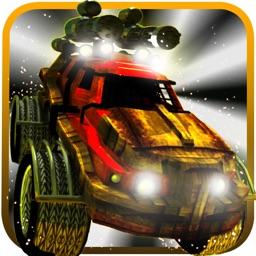 Ninja Zombie Monster Truck - Road Kill Revenge Rally