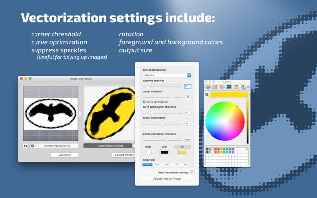 Image Vectorizer On Mac