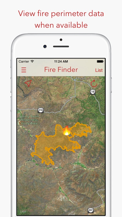 Fire Finder - Wildfire Info, Images and More screenshot-3