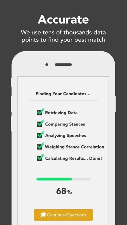 Voter - Matchmaking for Politics screenshot-3
