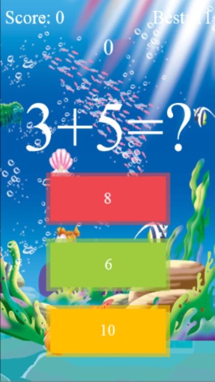 Crazy Math Game On Time screenshot-3