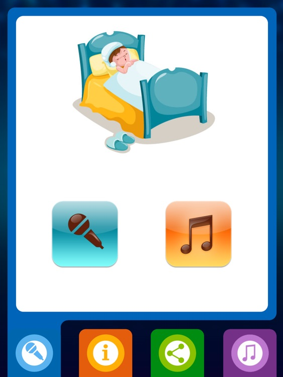 Baby night tales HD : stories and night lights for toddlers