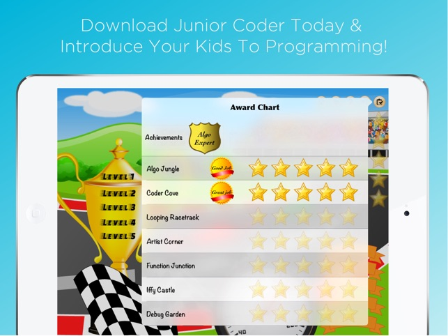 Junior Coder - Visual programming games for kids on the App Store