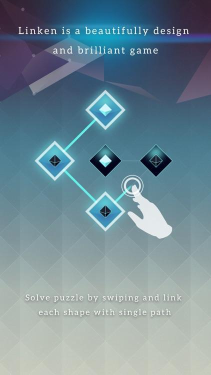 Linken - A Minimalist Line Puzzle screenshot-0
