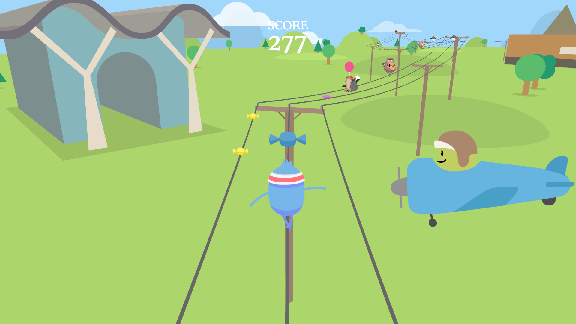 Dumb Ways to Die: Wire Walk screenshot 3